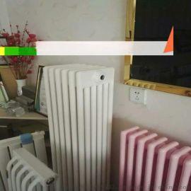 批发定制钢三柱暖气片 弧管钢三蒸汽水暖散热器 GZ3