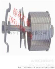不锈钢水帽304 316 混床中排绕丝支管 进出水装置 布水器楔形滤网
