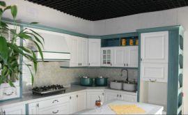 長沙威尼美定做實木櫥櫃整體門板廚房臺面石英石廚櫃廠家直銷