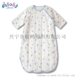 三十年专注于宝宝纯棉纱布睡袋生产厂家