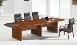 高档办公室椭圆会议桌职员培训桌 私人订制会议桌