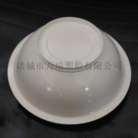 175口径一次性白色塑料蒸碗 微波炉碗 扣肉碗