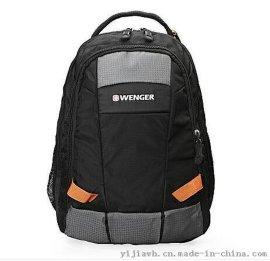 威戈黑色双肩包SAB712211109046 经典时尚休闲包双肩包批发团购