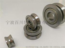 可配同心轴(concentric)&偏心轴(eccentric) LV204-58ZZ 120度V形槽导轨滚轮轴承