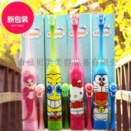 电动牙刷一件代发 全自动声波牙刷 卡通儿童电动牙刷 工厂批发
