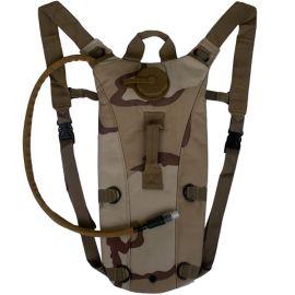 3L防尘耐压水袋背包 户外装备登山旅行军迷骑行运动折叠TPU饮水囊