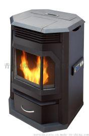 厂家直销 最实惠 小型 便携式 家用取暖 生物质颗粒壁炉