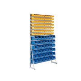 工具挂架可移动/固定式双面物料架方孔挂板工具架双面车间展示架