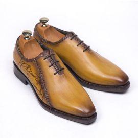 北京预约上门量脚定做皮鞋,角度订制手工皮鞋