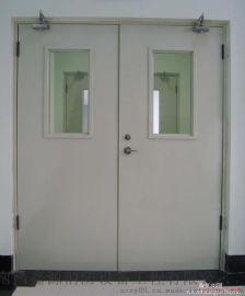 甲级钢质防火门 电梯安全防火门 双开防盗门