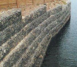 河道石笼网,河堤石笼网