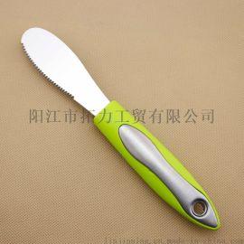 厂家直销不锈钢牛油刀 奶油刀 芝士刀 果酱刀 水果刀