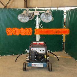 移动手推式工程照明车 云南销售 照明车厂家