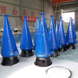 玻璃钢氧气锥 玻璃钢增氧锥厂家