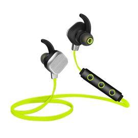新款智能无线蓝牙金属磁吸附 ip55蓝牙耳机4.1立体声跑步双耳