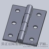 锌合金铰链  180°铰链   机柜用铰链  电器柜用铰链