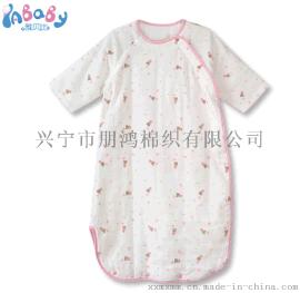 廠家直銷秋冬加厚寶寶全棉防踢被新生兒印花紗布護肚睡袋特價批發