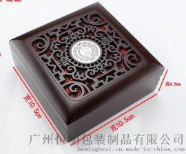 廣州恆明包裝珠寶首飾專賣店產品禮品鏤空木盒