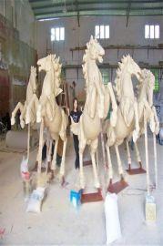 砂岩动物雕塑 砂岩动物马雕塑 人造砂岩动物马雕塑厂家