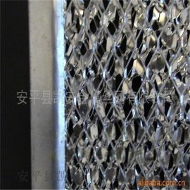 鋁箔網供應商 全鋁包邊空氣過濾網廠家