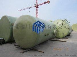 玻璃钢运输油罐保持恒温储存 使用寿命长-瑞川