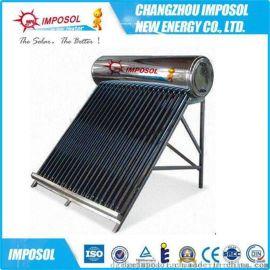出口品质一体非承压智能控制电加热太阳能热水器Solar Keymark认证