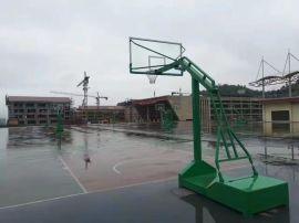 现货批发固定预埋式箱体式篮球架包安装