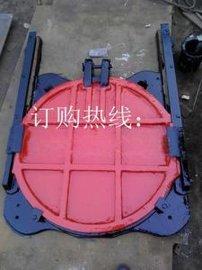 定制 水利工程用 SFZ球墨铸铁圆闸门 手动 单向