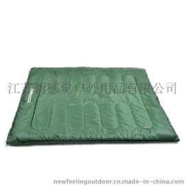 TOOTS 零距離戶外睡袋 信封式加厚雙人睡袋 春秋冬季野營成人睡袋