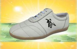 健身休闲专用品牌太极鞋软牛皮牛筋底练功武术运动鞋