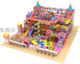 儿童彩虹网 儿童游乐场淘气堡设备  淘气堡厂家 淘气堡加盟