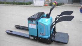 金铸电动叉车生产供应2.2t搬运车 站驾式电动搬运车 可定制物流用电动托盘叉车