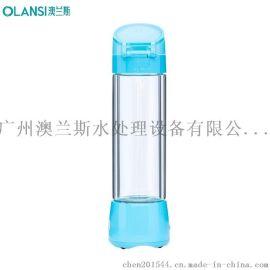富氢健康水杯微电解高浓度富氢水素水杯运动玻璃杯