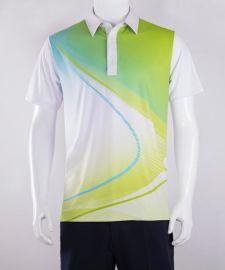2017春夏新品 高尔夫服装T恤polo衫定制 男式运动装翻领T恤