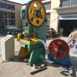 增茂供应刀片刺绳滚笼机器/铁蒺藜生产设备
