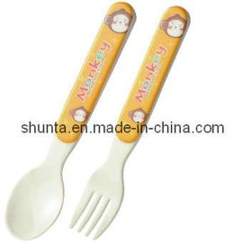 美耐皿兒童叉匙組