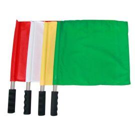 發令旗裁判旗信號手旗旗交通指揮旗警示旗 野戰指揮信號手旗批發