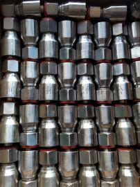 厂家销售 液压油管接头总成  扣压式液压接头 扣压接头三件套