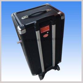 廠家專業設計與生產便攜式音響系統鋁箱,拉杆移動音箱航空箱