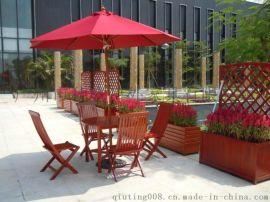 户外休闲桌椅 专业生产房地产休闲桌椅  实木休闲桌椅报价