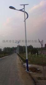 扬州弘旭供应4米太阳能路灯新农村建设户外LED路灯