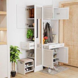 江苏定制创意鞋柜 各种风格鞋柜置物柜