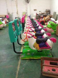 搖擺3D馬遊戲機 3D賽馬搖擺機 兒童賽馬遊藝機
