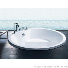 鼎派卫浴DIYPASS   BG-606  亚克力工程浴缸