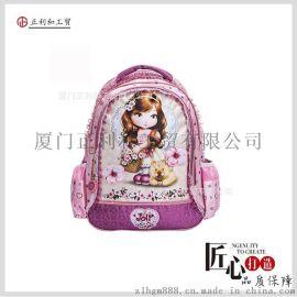 一件代发韩版儿童书包可爱女生双肩背包芭比