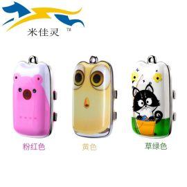 米佳靈兒童定位智慧電話新款Gps,Wifi吊墜電話微型兒童手機定位器
