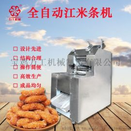 东北全自动油枣机 多功能新口味江米条设备