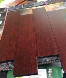 实木地板 纯实木 番龙眼龙凤檀色 地暖地热 厂家直销