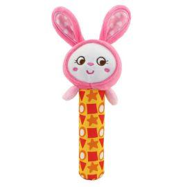 Happy Monkey 动物款婴儿玩具摇铃早教益智毛绒玩具