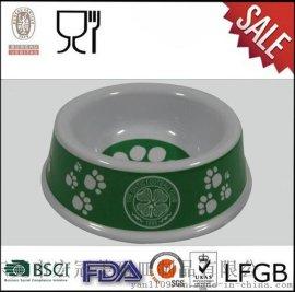 宏冠美耐皿直销球队美耐皿狗碗|密胺宠物碗|赠品礼品狗碗